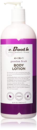 (c.Booth 4-in-1 Multi-Action Passion Fruit Body Lotion, 32 Fluid Ounce)