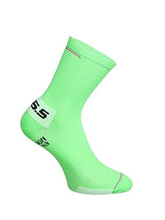 Calze da Ciclismo Unisex Adulto Q36.5 Compression ITA Green Fluo