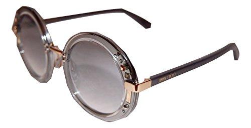JIMMY CHOO GEM/S 16U CRYSTAL RUTHENIUM GREY - Choo Sunglasses With Crystals Jimmy
