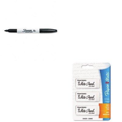 KITPAP70624SAN30001 - Value Kit - Paper Mate White Pearl Eraser (PAP70624) and Sharpie Permanent Marker (SAN30001)