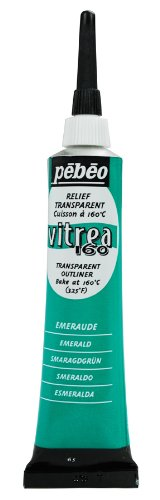 Pebeo Vitrea Outliner 20 Milliliter Emerald
