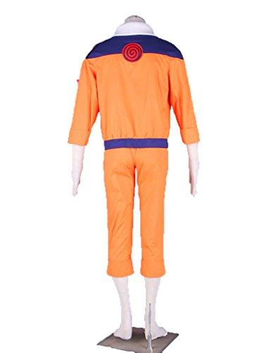 Wsysnl Japanese Anime Cosplay Costume for Uzumaki Naruto Adult/Kids by Wsysnl (Image #3)