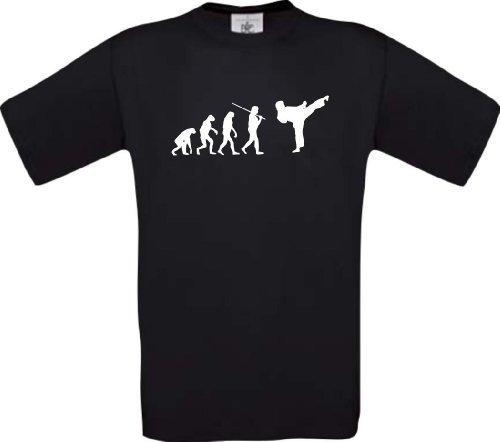 ShirtInStyle T-Shirt EVOLUTION Kampsport Karate Kickboxen Größen S-XXL