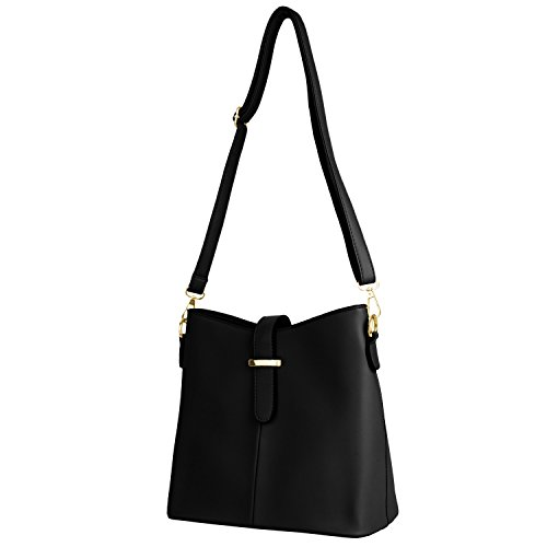 Crossbod Studded Style Lady Black1 Leather Bags Dancing Bag Women Party Faux Shoulder qSFawzz