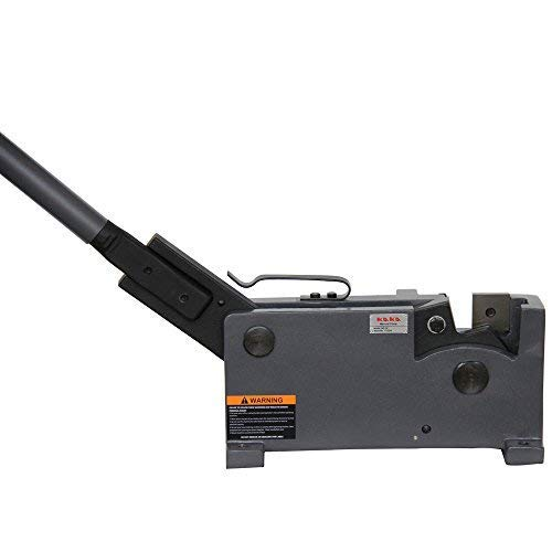 (Kaka industrial MS-32 Sheet Metal Hand Shear, Rebar, Rod & Round Steel, Flat Bar Cutter)