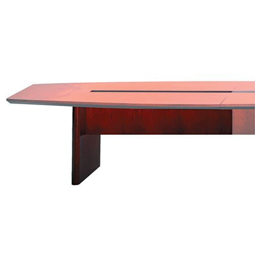 Mayline CMT72SBCRY Corsica Conference Series 6' Starter Modular Table Base, Sierra Cherry