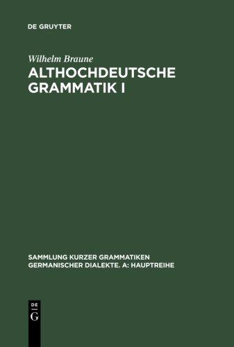 ALTHOCHDEUTSCHE GRAMMATIK 01
