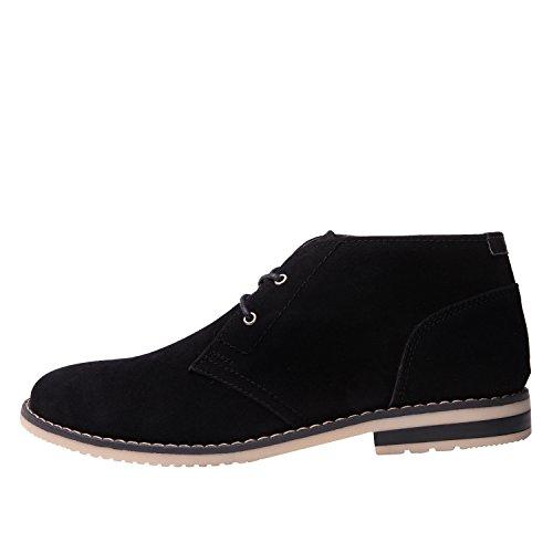 Chukka Win Global Mens Black Classic 1628 Globalwin Boots wvXXqSa