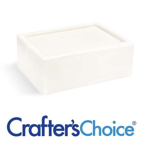 Crafter's Choice 2 pack of 2 LB Premium Goats Milk Melt and Pour Soap Base