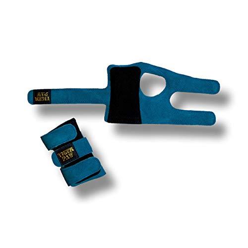 US Glove Tiger Paws Gymnastics Teal Wrist Wraps | Adjustable Wrist Support | Wrist Injury Prevention - Medium ()