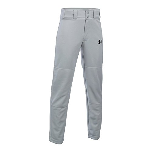 Under Armour Boys' Clean Up Baseball Pants, Baseball Gray, Youth Large