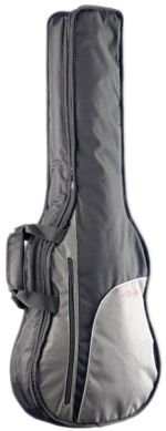 Stagg STB-10C3 Economy Gig Bag for 3/4-Size Classical Guitar with 10-Millimetre Foam Padding & Shoulder Straps - Black