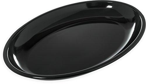 Designer Displayware Melamine Oval Platter, 4 Quart Capacity, 19-3/16
