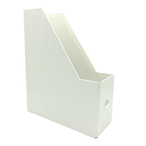 UnionBasic Document Files Holder Racks Stand - Foldable to Save Space (Environmental Paper White) by UnionBasic