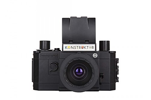 Lomography Konstruktor F - Children Science Kits (Photography, Black, Plastic) (Film Camera Lomography)