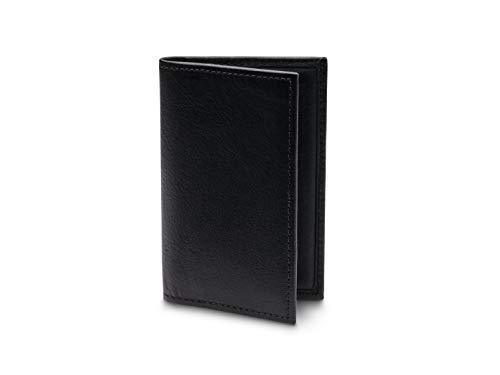 Bosca Men's Calling Card Case In Black