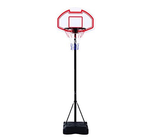 8 opinioni per Outsunny – Canestro da Basket da Esterno con Supporto e Altezza Regolabile in