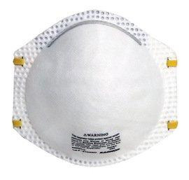 Radnor® N95 Particulate Disposable Respirator With Adjustable Nose Clip - NIOSH 42CFR84 (20 Box)