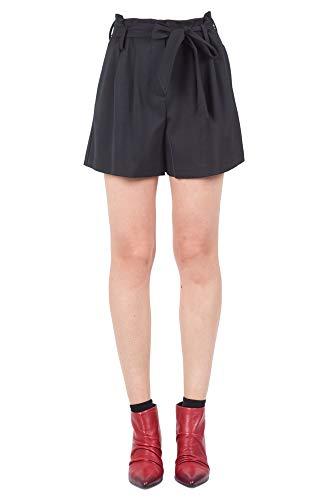 8PM Shorts Donna D8PM82S148CONTI Poliestere Nero