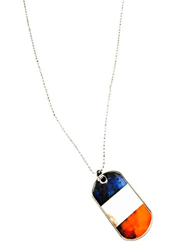 France National Dress Costume (French Flag Necklace France Flag Pendant French Flag Key Ring (France))