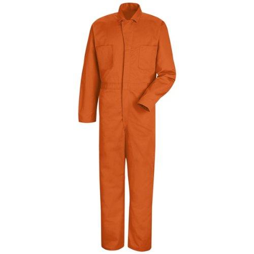 orange coveralls insulated - 2