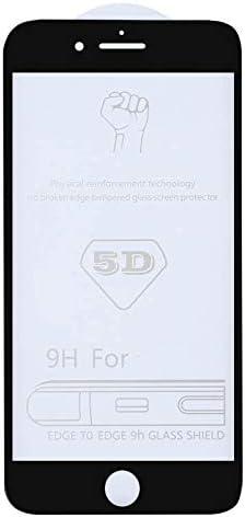 LGYD for 25 PCS 9H 5D Full Glue Full Screen Tempered Glass Film for iPhone 6 6s