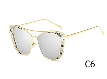 TL-Sunglasses Oversized Occhiali da sole donne sexy multicolore Occhiali da sole UV400,3015C3
