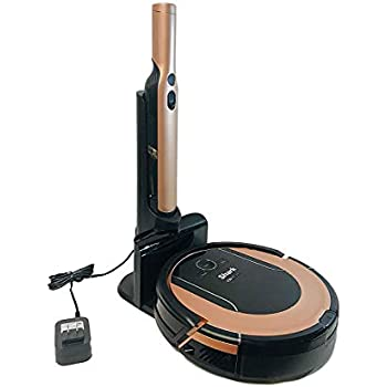 Lutema Shark ION Robot Vacuum Cleaning System S86 (Rose Gold) with Wi-FiApp Controlled & Smart Sensor Navigation 2.0 | Hepa Anti-Allergen RV852 (Renewed)
