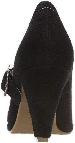 donna schwarz 002 Décolleté 3005717 chiuso Hirschkogel nero PqwE0fnx
