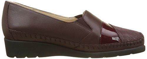 Burgundy Red Emantine Luxat Women's Loafers faRfBq