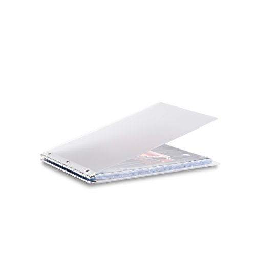 (Pina Zangaro Vista A4 Landscape Screwpost Binder Mist, Includes 20 Pro-Archive Sheet Protectors (34086))