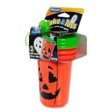 orange pumpkin take and toss limited edition halloween sippy cups 10 oz 3 pk