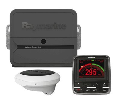 RAYMARINE EV-200 p70 Sailboat Pack No Drive, MFG# T70155, Evolution Autopilot system consisting of ACU200 processor, p70 control head, EV-1 sensor, and EV-1 cabling kit. Drive unit not included. / RAY-T70155 /