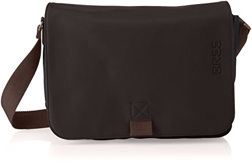 BREE Punch Casual 62, Anthra/d. Br, Sh. Bag, Unisex Adults' Shoulder Grau (Anthra.), 8x24x34 cm (B x H T) (Bree Punch)