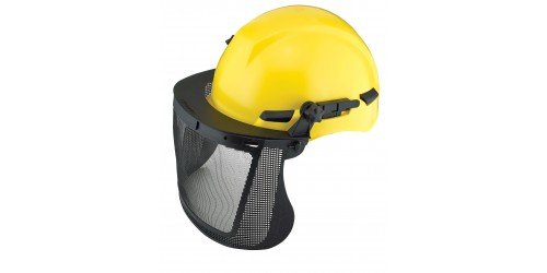 "Dynamic Safety EPWM815 Wire Mesh Face Shield Visor, 8"" x 15.5"""