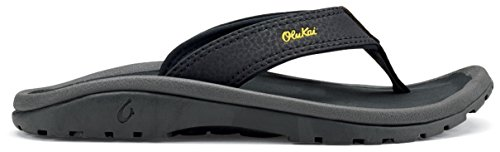 Olukai Ohana Slipper - Boys Trench Blue / Dark Shadow