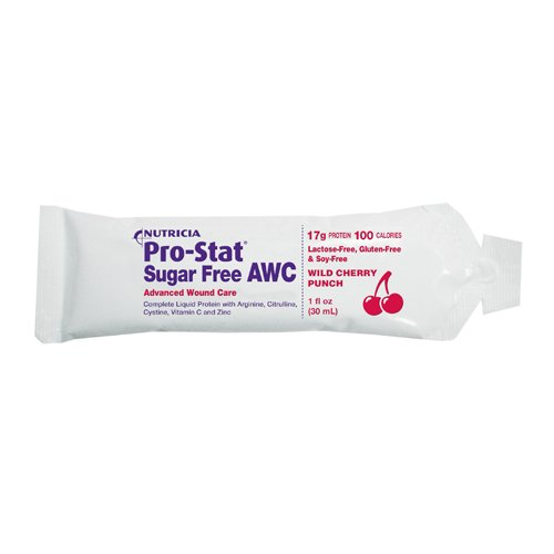 Pro-Stat AWC, Sugar Free, Wild Cherry Punch - 1 oz Packet (Pack of 96)