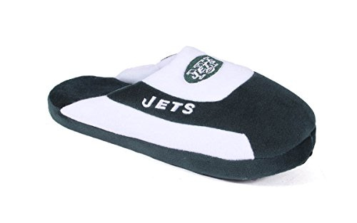 Happy Feet Mens and Womens New York Jets - Low Pro Slippers - XL (Happy Feet Jets compare prices)