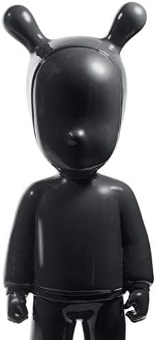 LLADR The Black Guest Figurine. Large Model. Porcelain The Guest Figure.