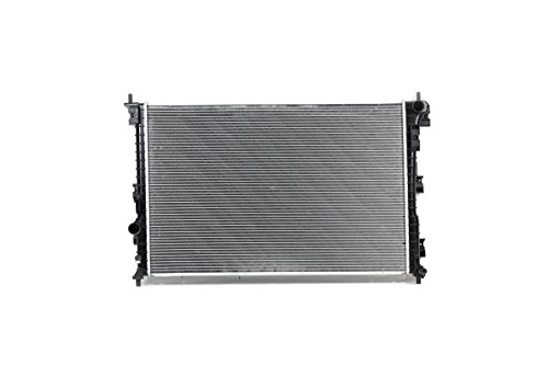 Radiator - Cooling Direct For/Fit 13561 13-Apr'14 Ford Explorer 3.5L Turbo WITH Power Take-Off Plastic Tank Aluminum Core