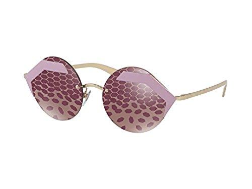 55 Bvlgari Sol 0bv6089 Mujer Rosa 2045h5 Para dark Gafas De pink 6HrEHxwq