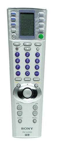 Sony RM-VL1000 12-Device Universal Remote Commander Remote Control - Sony Universal Controller