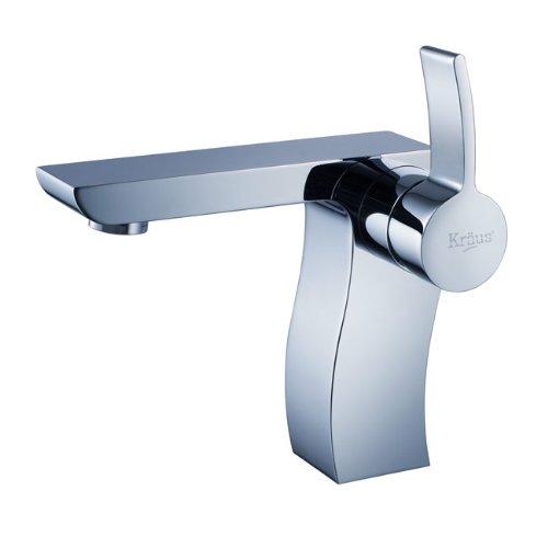 Kraus KEF-14601CH Sonus Single Lever Basin Bathroom Faucet Chrome