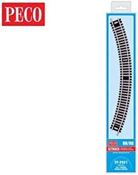 4 Peco ST-2021 1st Radius Double Curves