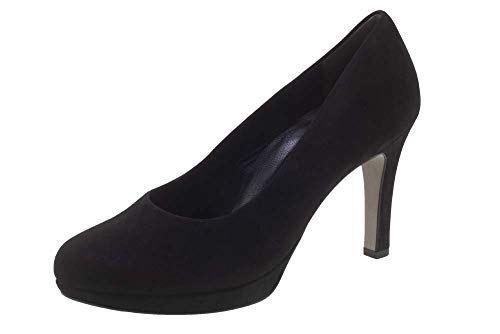 Paul Green Corey Pump (9, Black Suede)