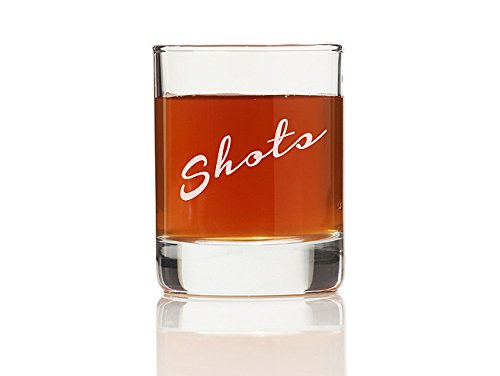 "Chloe and Madison ""Shots"" Shot Glass, Set of 4"