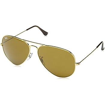 8065728072 ... good ray ban original aviator sunglasses rb3025 gold brown metal non  polarized 62mm 9ba26 2952c