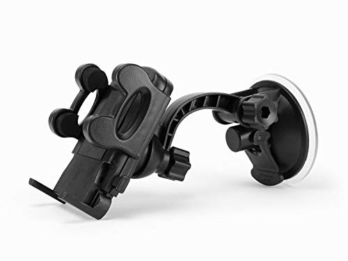 Cellet Windshield/Dash Phone Mount with Large Suction Cup Perfect for Apple iPhone Xs/Xs Max/Xr/X8/7 Samsung Note 9/8/5 Galaxy S9/S9 Plus/S8/S8 Plus Motorola HTC ZTE LG and All Other Smartphones