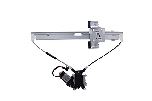 HANSUN 8820-0252 Power Window Regulator With Motor Front Left Driver Side For Dodge Mitsubishi Ram - Dakota Raider Ram - Pickup
