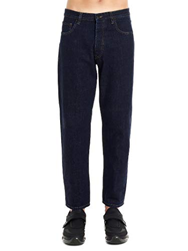 (Prada Men's Gep303s1921t7tf0008 Blue Cotton Jeans)